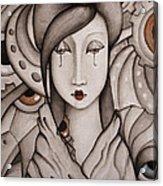 Who Am I Acrylic Print by Simona  Mereu