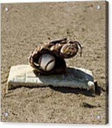 Who's On First Acrylic Print by Bill Cannon
