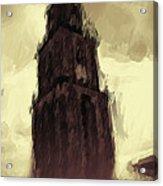 Wicked Tower Acrylic Print by Ayse Deniz