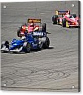 Wide In Turn 9 Acrylic Print by Dave Koontz