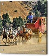 Wild West Ride 2 Acrylic Print by Donna Kennedy