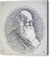 William Cullen Bryant Acrylic Print by Henry Goode