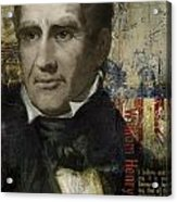 William Henry Harrison Acrylic Print by Corporate Art Task Force