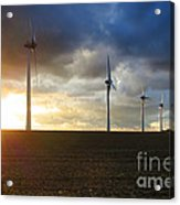Wind And Sun Acrylic Print by Olivier Le Queinec