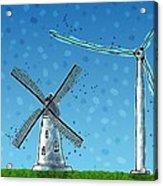 Wind Blows Acrylic Print by Gianfranco Weiss