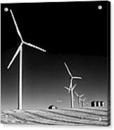 Wind Farm Acrylic Print by Trever Miller