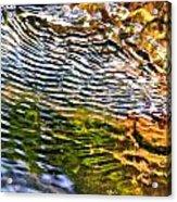 Wind Ripples Acrylic Print by David Flitman