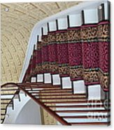 Winding Staircase Acrylic Print by Kathleen Struckle