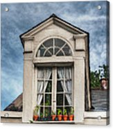 Window Garden Acrylic Print by Brenda Bryant