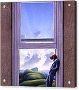 Window Of Dreams Acrylic Print by Jerry LoFaro
