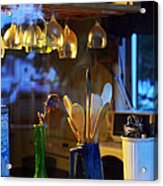 Window To My Kitchen Acrylic Print by Brian Wallace