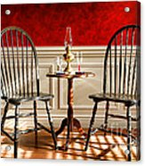 Windsor Chairs Acrylic Print by Olivier Le Queinec