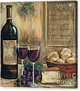 Wine For Two Acrylic Print by Marilyn Dunlap