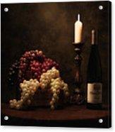 Wine Harvest Still Life Acrylic Print by Tom Mc Nemar