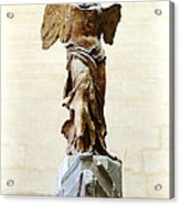 Winged Victory Of Samothrace Acrylic Print by Conor OBrien