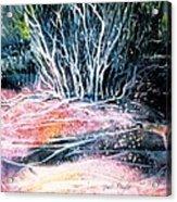 Winter Habitat No.1 Acrylic Print by Trudi Doyle