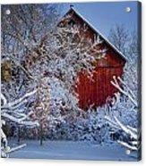 Winter Warmth  Acrylic Print by Jeff Klingler