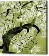 Wishing Tree Acrylic Print by Anastasiya Malakhova