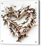 With Love Acrylic Print by Anne Gilbert