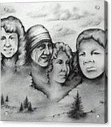 Women Who Rock Acrylic Print by Catherine Howley