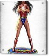 Wonder Woman V2 Acrylic Print by Frederico Borges