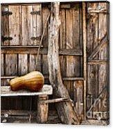 Wooden Shack Acrylic Print by Carlos Caetano