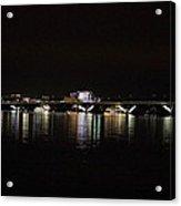 Woodrow Wilson Bridge - Washington Dc - 011343 Acrylic Print by DC Photographer