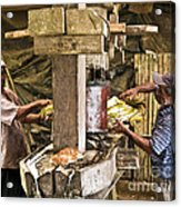 Working Hard For Sugar Acrylic Print by Heiko Koehrer-Wagner