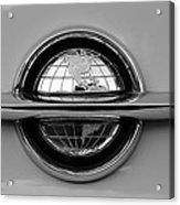 World Emblem  Acrylic Print by David Lee Thompson