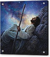 Worlds Without End Acrylic Print by Greg Olsen