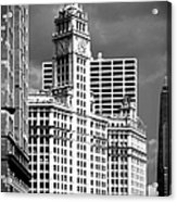 Wrigley Building Chicago Illinois Acrylic Print by Christine Till