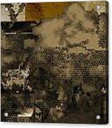 X Acrylic Print by Yanni Theodorou