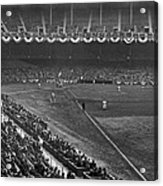 Yankee Stadium Game Acrylic Print by Underwood Archives