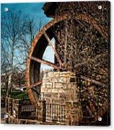 Ye Olde Mill Acrylic Print by Tom Mc Nemar