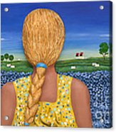Yearning Acrylic Print by Anne Klar