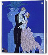 Yes Acrylic Print by Georges Barbier