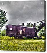Yesteryear - Hdr Look Acrylic Print by Rhonda Barrett