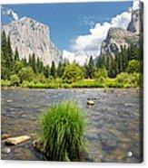 Yosemite Acrylic Print by Jerome Obille