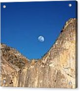 Yosemite Moonrise Acrylic Print by Jane Rix