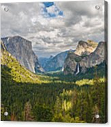 Yosemite Valley Acrylic Print by Sarit Sotangkur