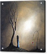 Your Memory Lives On In Me By Shawna Erback Acrylic Print by Shawna Erback