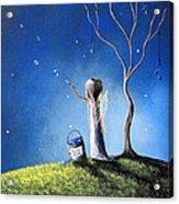 Your Wish Comes True Tonight By Shawna Erback Acrylic Print by Shawna Erback