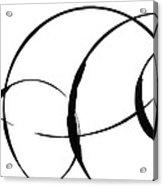 Zen Circles 3 Acrylic Print by Hakon Soreide