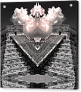 Zeus Acrylic Print by Dominic Piperata
