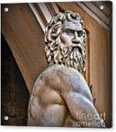Zeus Acrylic Print by Lee Dos Santos
