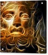 Zeus Acrylic Print by Taylan Soyturk