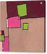 Zipless Acrylic Print by Douglas Simonson