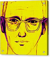 Zodiac Killer With Sign 20130213m68 Acrylic Print by Wingsdomain Art and Photography