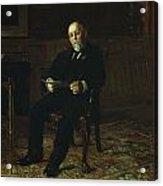 Robert M. Lindsay Acrylic Print by Thomas Cowperthwait Eakins
