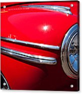 1946 Ford Mercury Eight Acrylic Print by David Patterson